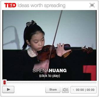 Sirena Huang:小提琴与技术、娱乐、设计的关系。