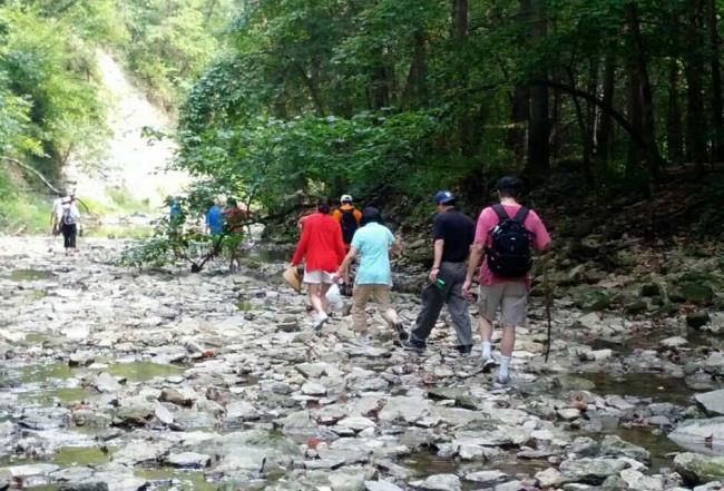 creek gorge