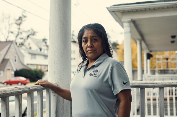 Victorina Morales, an undocumented immigrant who spoke about working on the housekeeping staff for the Trump National Golf Club.jpg