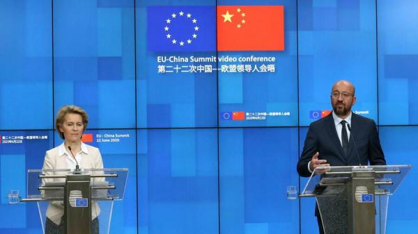 Ursula von der Leyen und Charles Michel EU China Gipfel.jpg